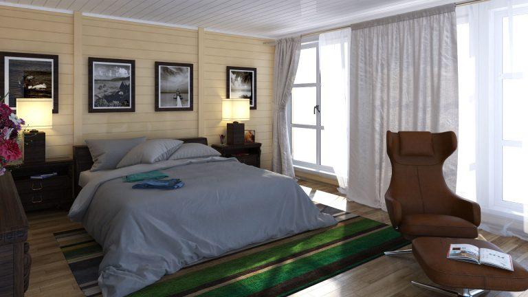 Интерьер спальни 1